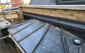 Vented-lead-roof